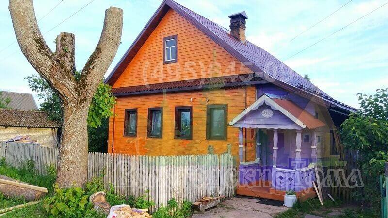 Реконструкция деревенского дома в Тверской области